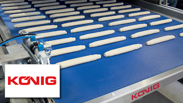 Koenig Maschinen - Finding the ideal make-up equipment for bun production